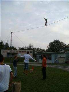 Initiation fil et slack line